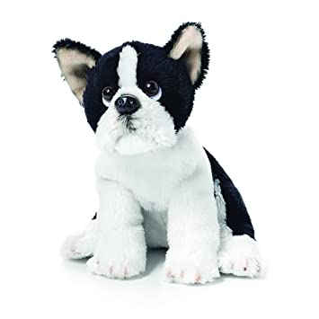 Amazon Com Demdaco Boston Terrier Beanbag Black And White