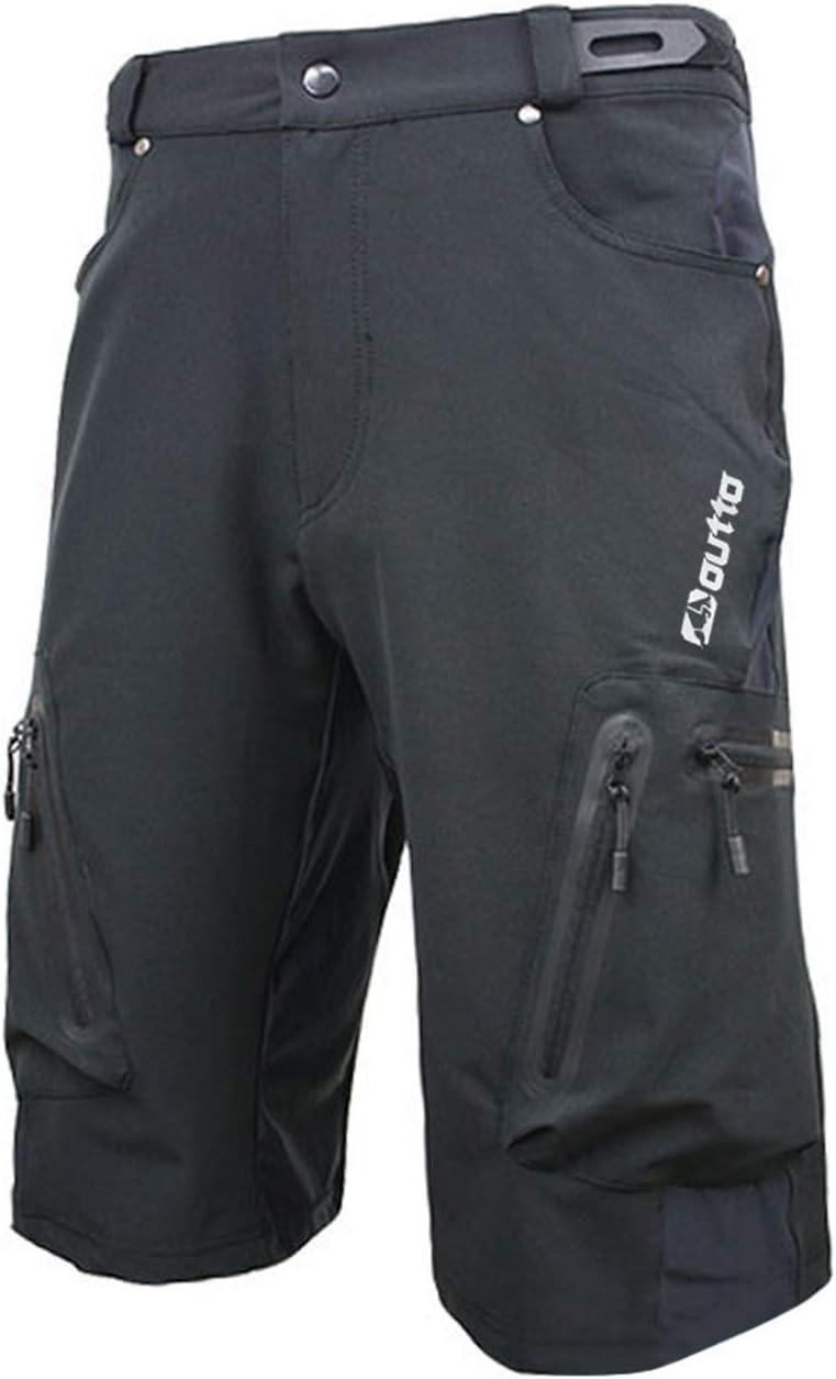 correr holgados informales transpirables 7VSTOHS Pantalones cortos de ciclismo para hombre para ciclismo escalada