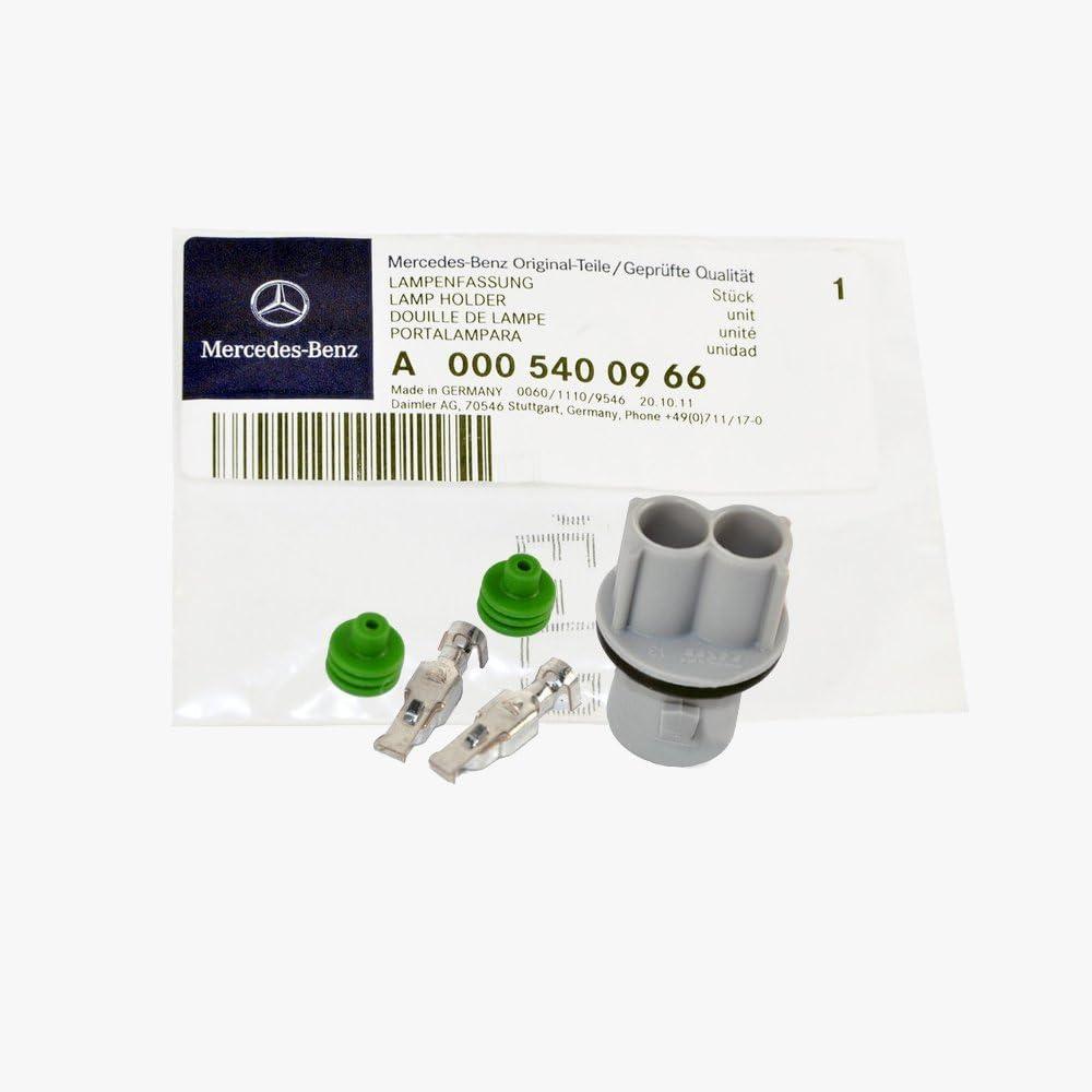 Mercedes-Benz Side Marker Light//Lamp Pigtail Socket Genuine Factory Original 0005400966