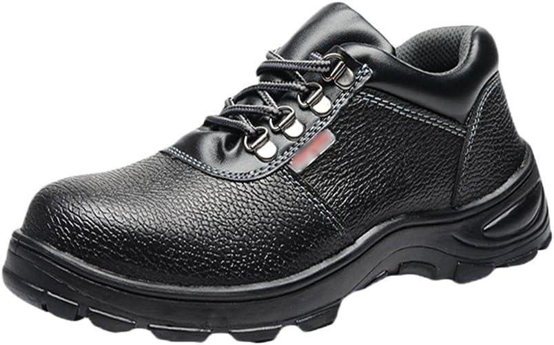 de Chaussure Sécurité NiSeng de Botte Sécurité Chaussure Embout Acier Chantier À Homme Chaussures en de KJ3F5Tul1c