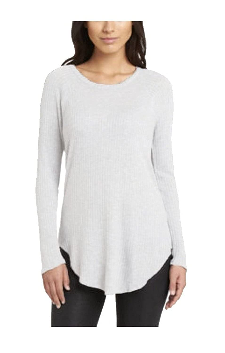 Chaser Ladies/' Long Sleeve Waffle Thermal Top