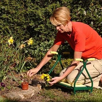 Tabouret De Jardinage Reversible Et Pliable Amazon Fr Bricolage