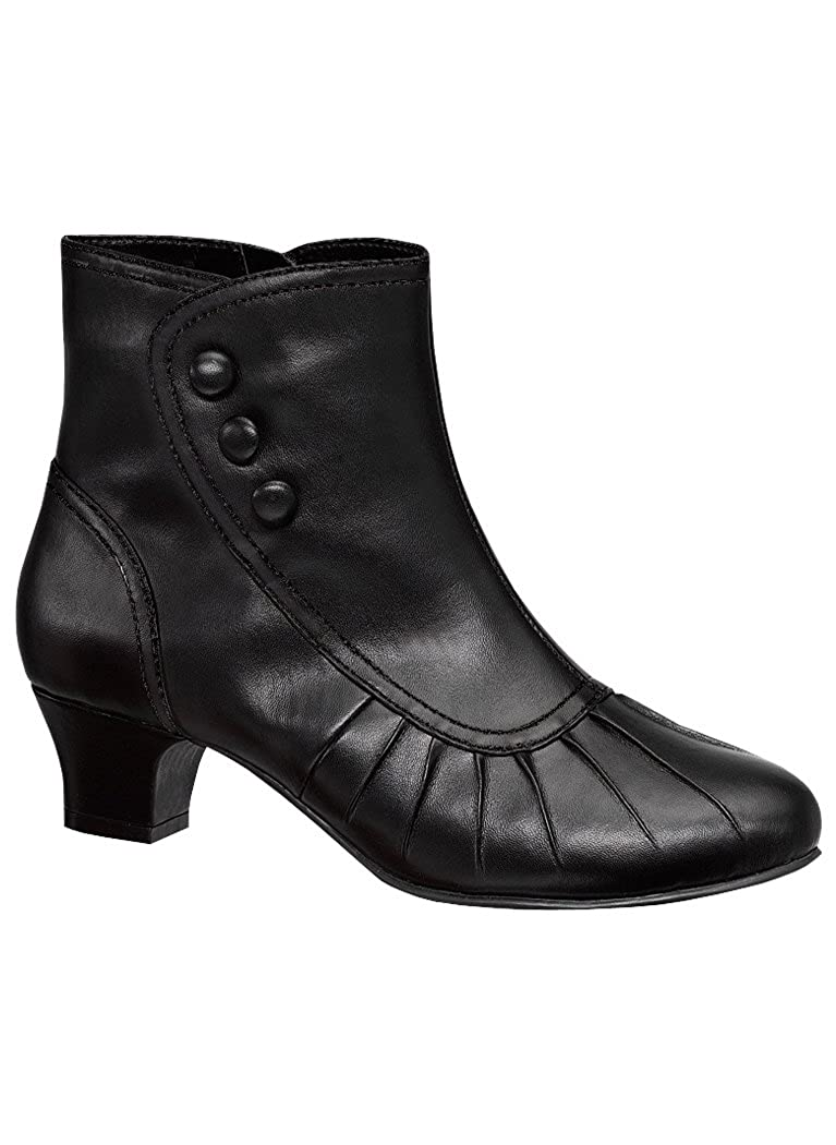 Ladies Victorian Boots & Shoes Angel Flex Kayla $34.99 AT vintagedancer.com