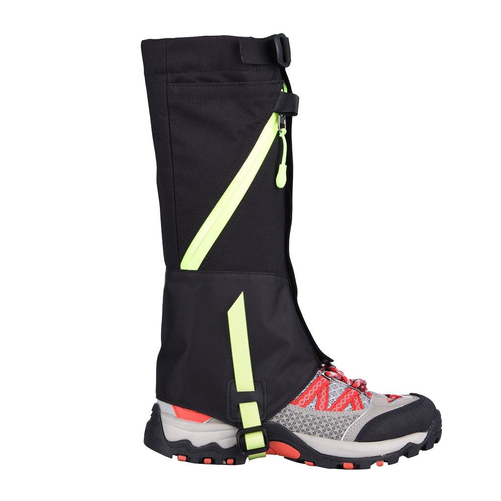MonkeyJack Kids Children Waterproof Windproof Snow Legging Gaiters for Outdoor Hiking Walking Climbing Skiing