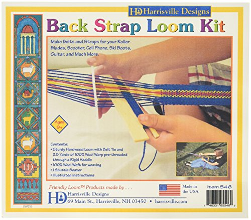 Harrisville Designs F546-AZ Strap Loom Kit, Multi for sale  Delivered anywhere in USA