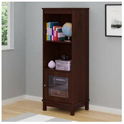 Charmant Audio Pier Free Standing Media Cabinet (Resort Cherry)