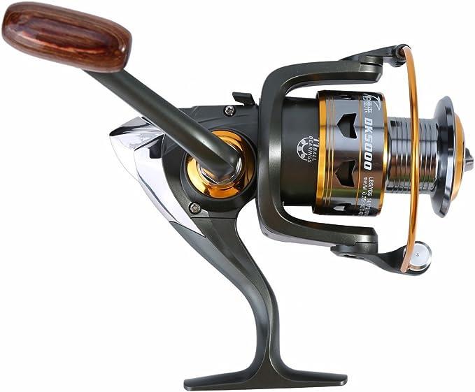 Carrete de pesca, 7 tamaños, resistente, portátil, de uso pesado ...
