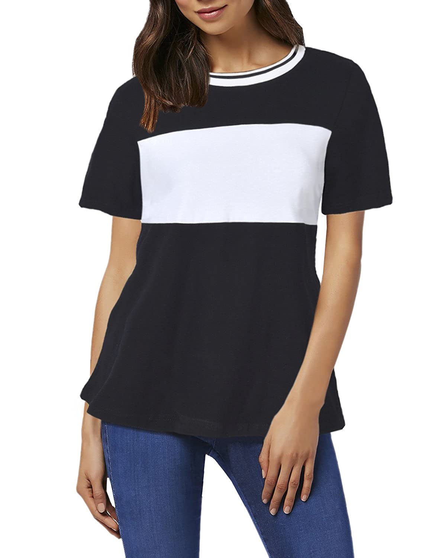 Blooming Jelly T-Shirt da Donna Raglan T-Shirt a Manica Lunga con Bretelle tonde a Bretelle Magliette a Maniche Lunghe da Donna