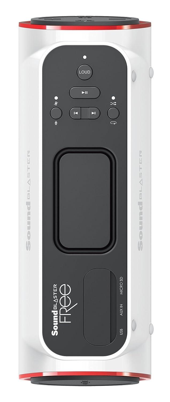 Creative Labs Sound Blaster Free 8W Tubo Color blanco: Amazon.es: Electrónica