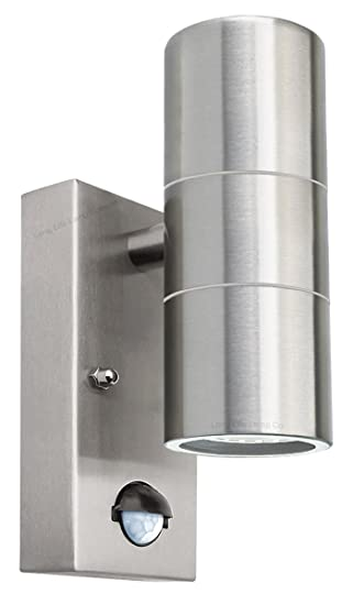 Pir up down outdoor wall light movement sensor ip65 zlc0204 in pir up down outdoor wall light movement sensor ip65 zlc0204 in stainless steel finish aloadofball Image collections