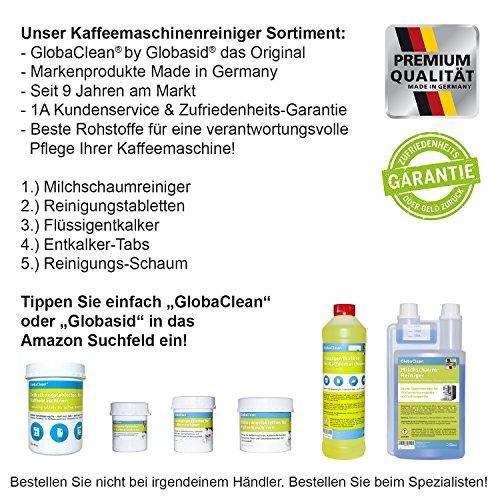 globasid® Original - Limpiador - Cafetera automática, kaffeefettlöser 110 ml - Fabricado en Alemania.: Amazon.es: Hogar