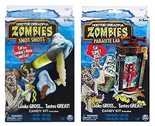 Dr. Dreadful Zombie Lab Snot Shots and Parasite Bug Lab Playsets