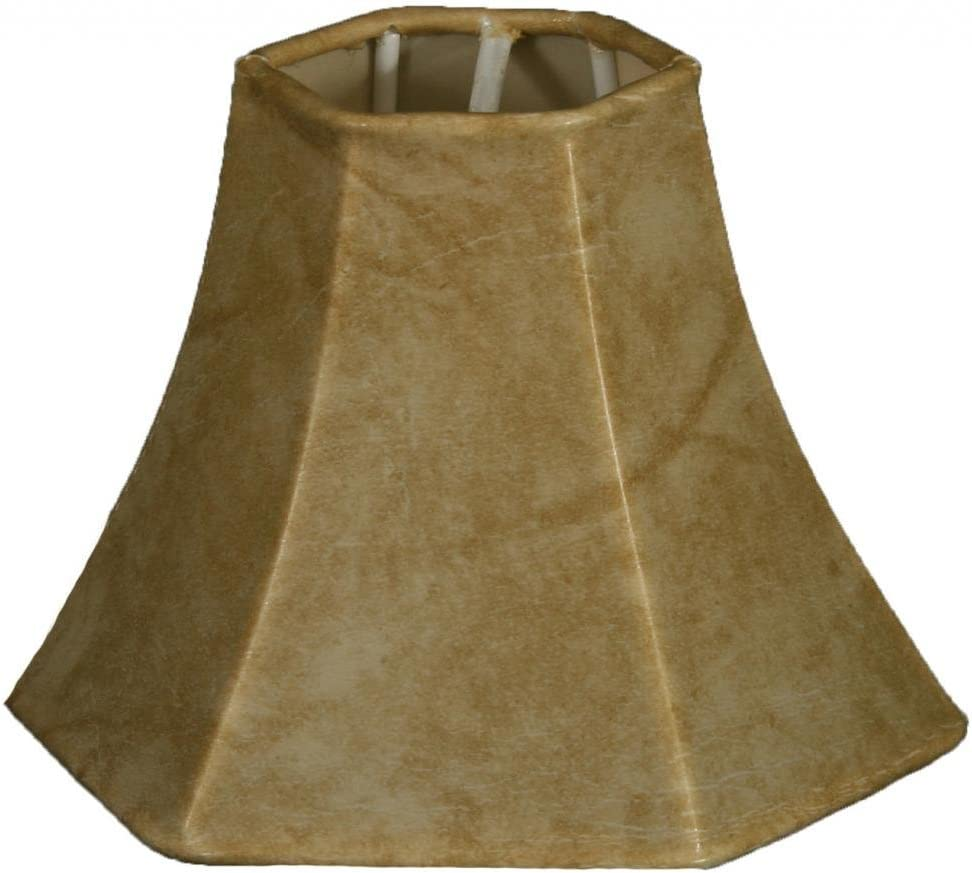 Mouton Royal Designs CS-117MT Hexagon Chandelier Lamp Shade