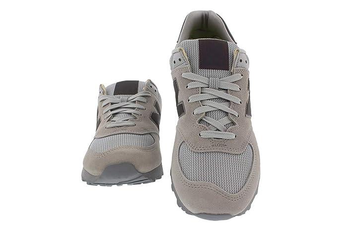 New Balance Ml 574 Uwa Mujer Zapatillas de Mujer Gris en