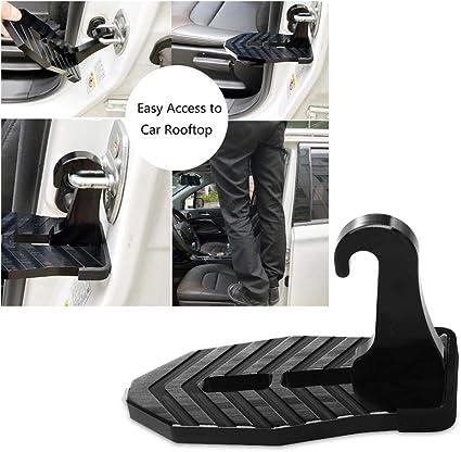 Fresh66 Auto Folding Soporte Placa Pedal Goma No Slip Umbral de Puerta Vehículo Escalera Soporte increíble para Jeep SUV Truck: Amazon.es: Coche y moto