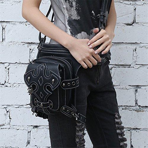 tracolla tasche nbsp;– femmina borsa bag donna messenger punk da Steam Originale a nbsp;funzionale multi 8Xqvgg