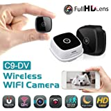 Ronshin Electronics C9-DV WIFI HD 1080P Mini Wireless Camera Security Camcorder with Night Vision black