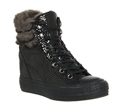 Converse Sneakers Ctas Platform Plus Collar Black Snake