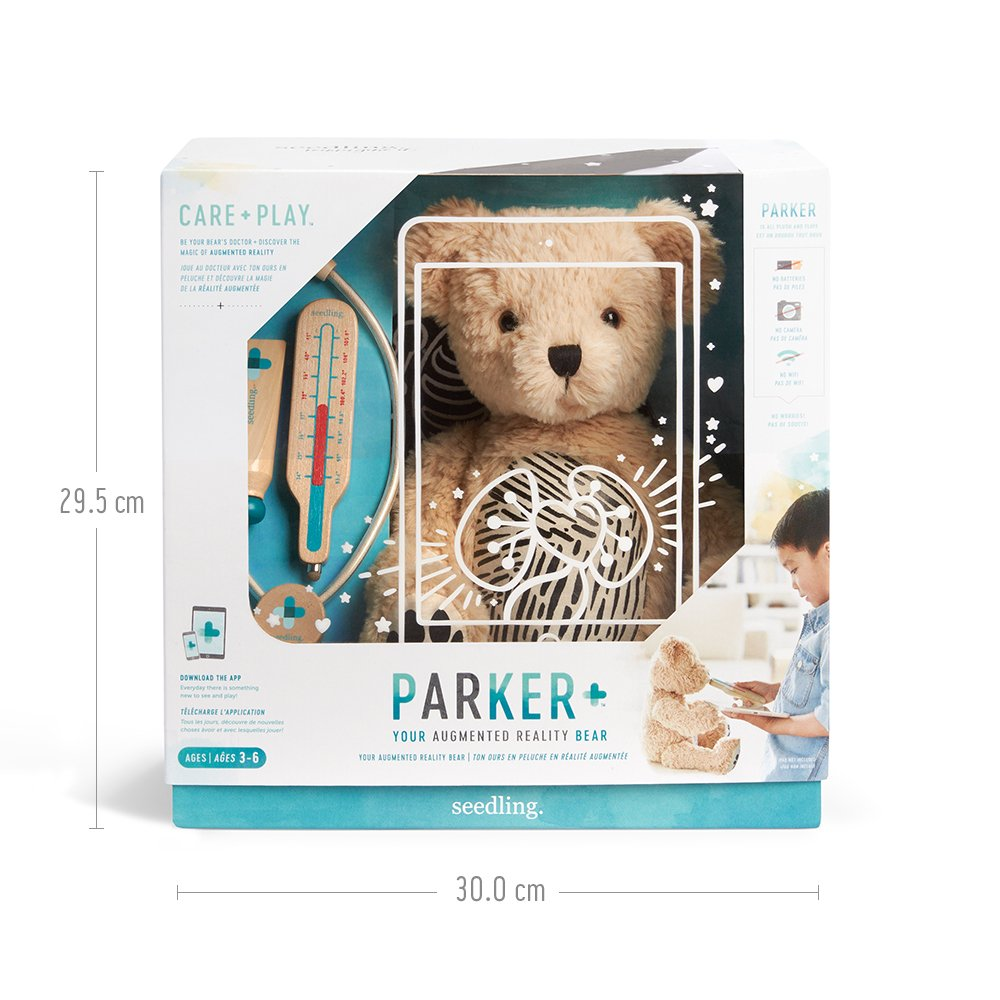 Amazon Seedling Parker Your Augmented Reality Bear For Toddlers Ages 3 6 Learning Kit Toys Games