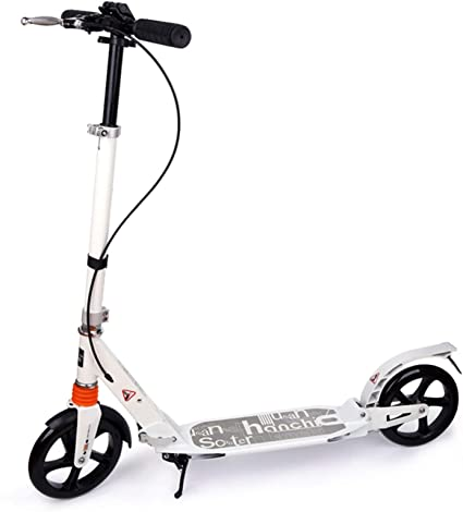 Big Wheels Scooter Folding Kick Scooter Support 220lbs Scooter for Adults//Teens