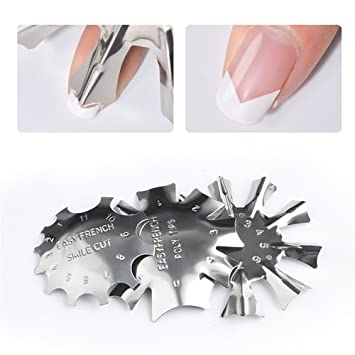 Amazon Com 3pc French Nail Edge Guide Tips Nail Art Tools Manicure