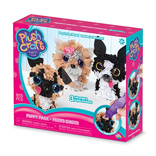 The Orb Factory PlushCraft Puppy Pack -