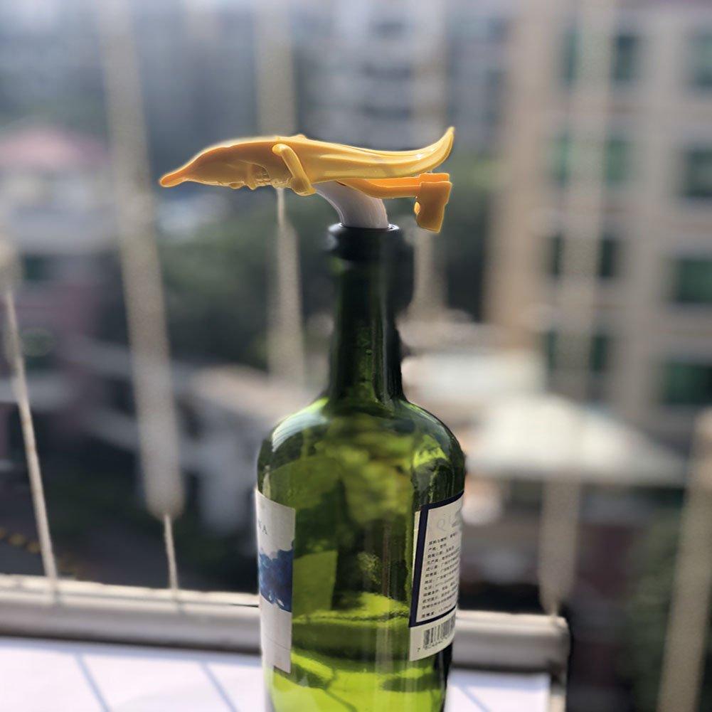 M-bestl Wine Bottle Stopper with Novelty Design