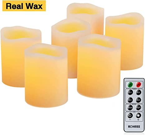 Unscented Votive Candles Wax Pillar Candles