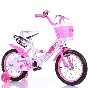 QFF Fácil de llevar en bicicleta, niños y niñas bicicleta bicicleta infantil de seguridad infantil