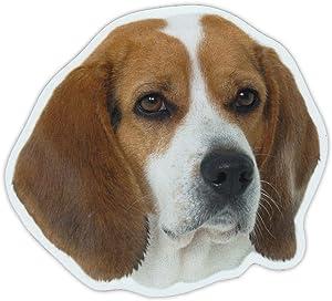 "Magnetic Bumper Sticker - Beagle Dog Breed Picture Magnet - Cars, Trucks, SUVs, Refrigerators - 5"" x 4.5"""