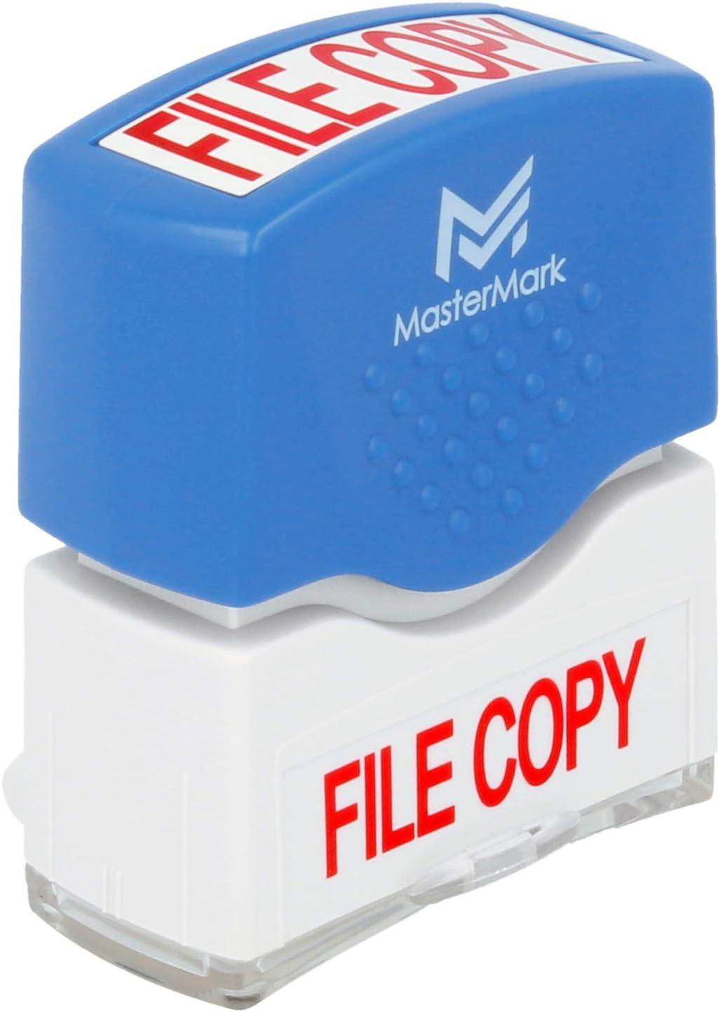 File Copy Stamp – MasterMark Premium Pre-Inked Office Stamp