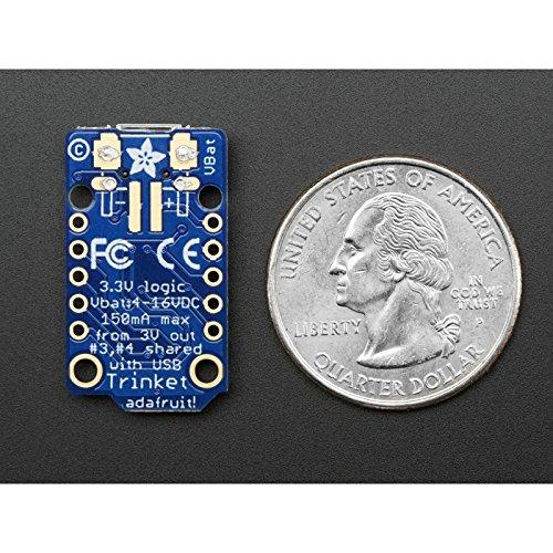 Adafruit Trinket MicroUSB 3.3V Logic Mini Microcontroller