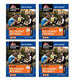 Mountain House Beef Stroganoff with Noodles Single Serve 4 Pack