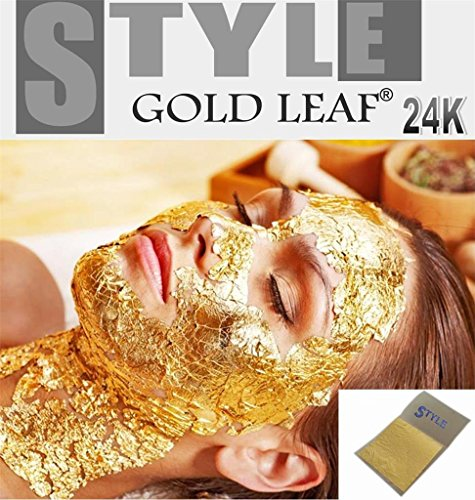 20-x-gold-leaf-leaves-24k-carat-pure-999-for-spa-facial-mask-anti-aging-35x35cm