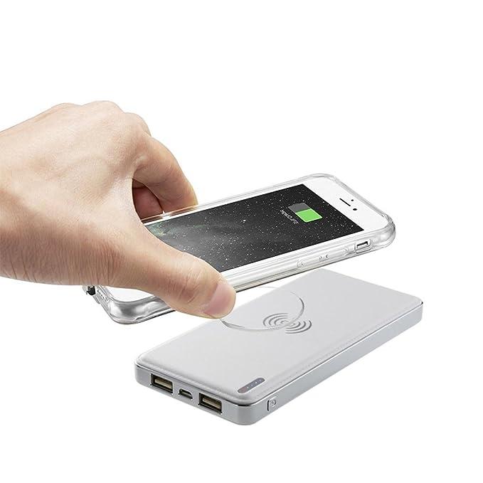 Para iphone X portátil cargador inalámbrico, Y56 portátil ...