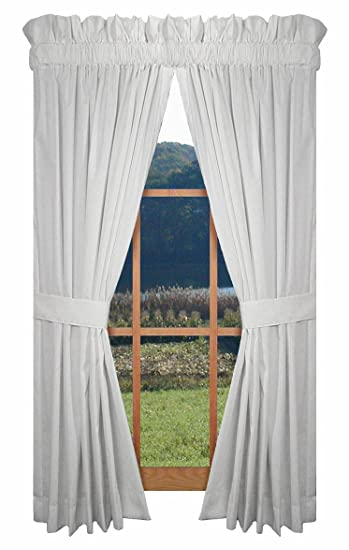 Amazon.com: Kerry Tailored Panels Curtains Pair 80-Inch-by-45-Inch ...
