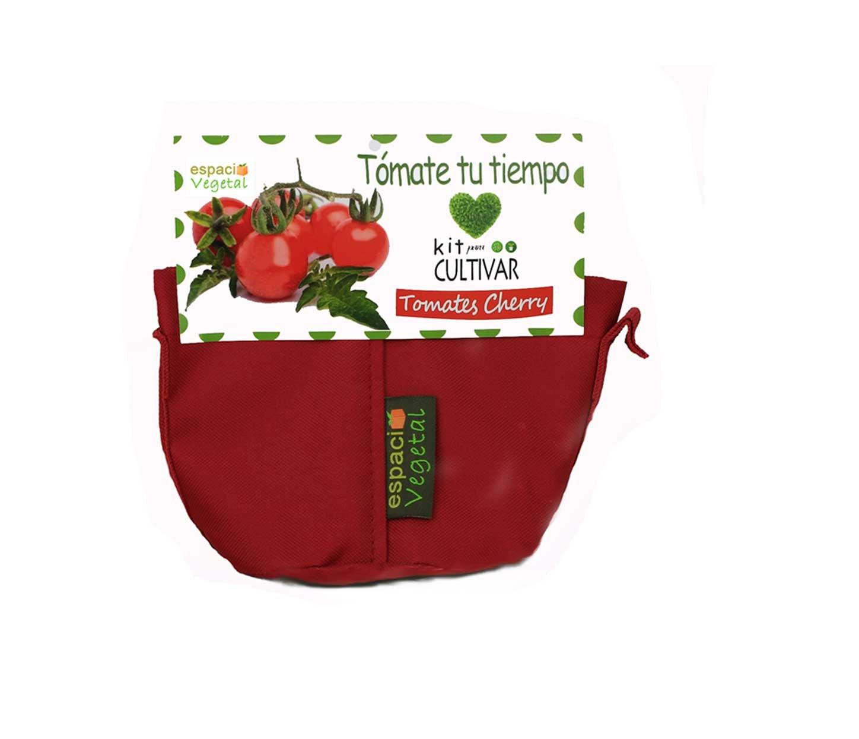 Kit cultivo Tomates Cherry. TÓMATE TU TIEMPO. Espacio Vegetal