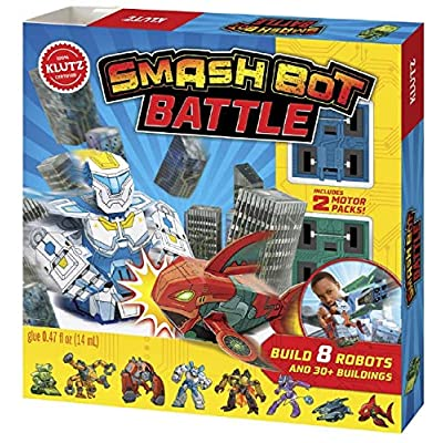Klutz Smash Bot Battle: Editors Of Klutz: Toys & Games