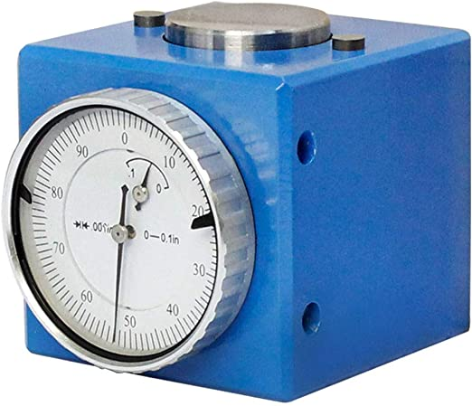 "Magnetic Z Axis Dial Zero Pre Setter Tool 50mm 2/"" Height 0.01/"" Gage Offset CNC"