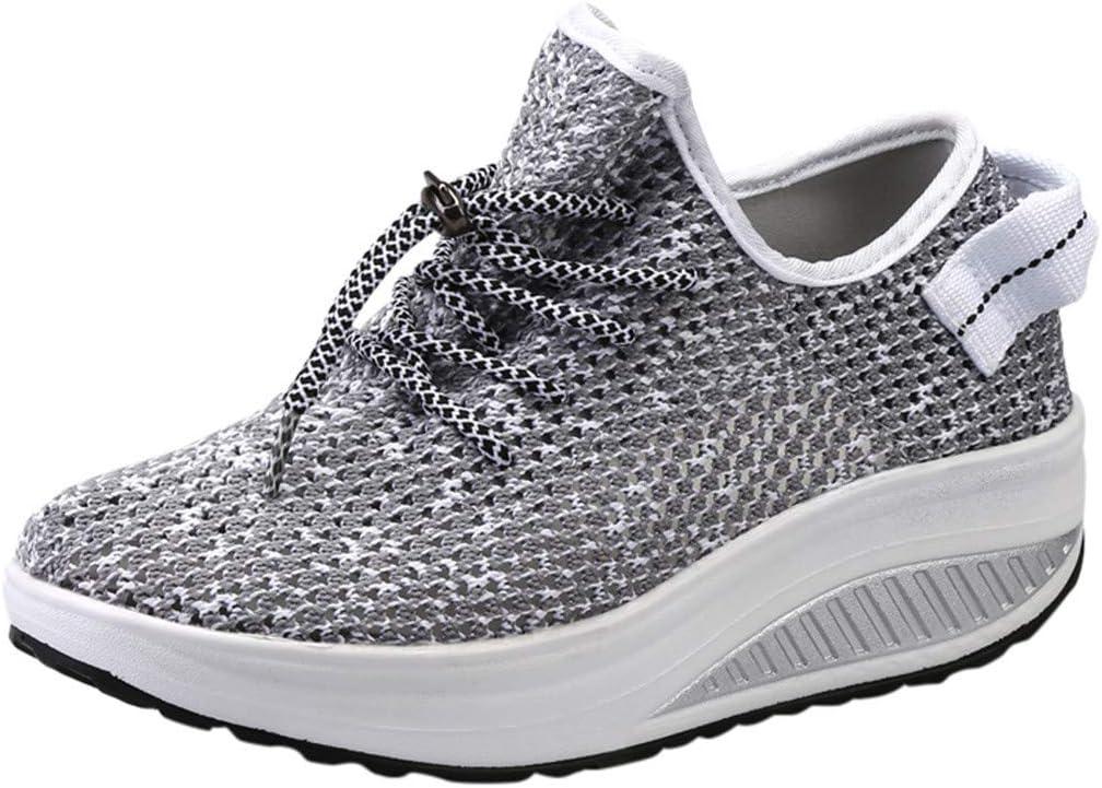 Sunnsean - Zapatos de malla transpirables de aire libre, suela gruesa, zapatillas de correr: Amazon.es: Instrumentos musicales