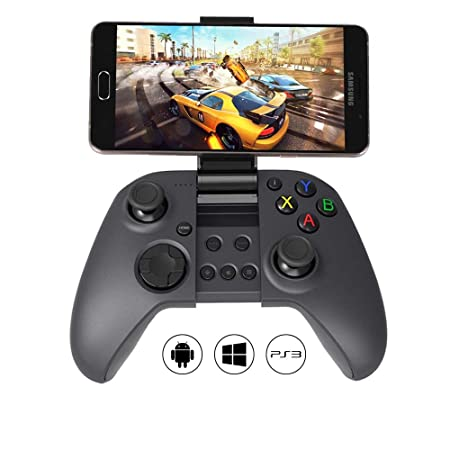 48fa2bdc46d MYGT C04 Wireless Bluetooth Gamepad Controller for PC, Android and PS3  (Black) Gamepads