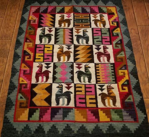 Tapestry Alpaca vintage style handmade