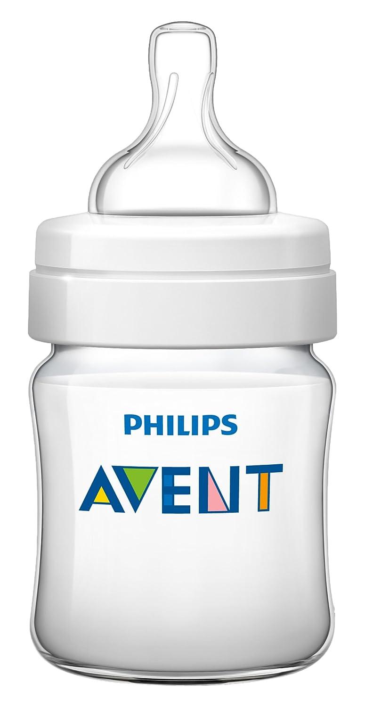 Philips Avent Biberon Classic Transparent 125 ml