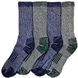 Kirkland Signature Mens Outdoor Trail Socks Merino Wool(Medium), 4 Pairs