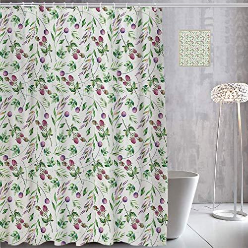 raspberry shower curtain - 7