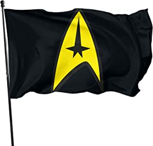 Wadeworth Star Trek Flag Garden Flag 3 X 5feet(90cm150cm) Holiday Decoration Garden Banner