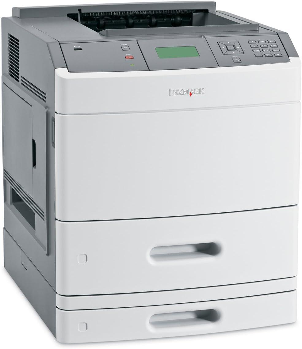 Lexmark T652 N – Impresora láser monocromo 48 ppm USB, Ethernet ...