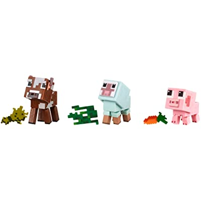 Minecraft Comic Mode Baby Animals 3-Pack: Toys & Games