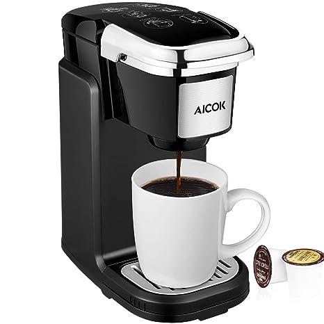 Amazon.com: AICOOK - Cafetera de una sola serie de 800 W ...
