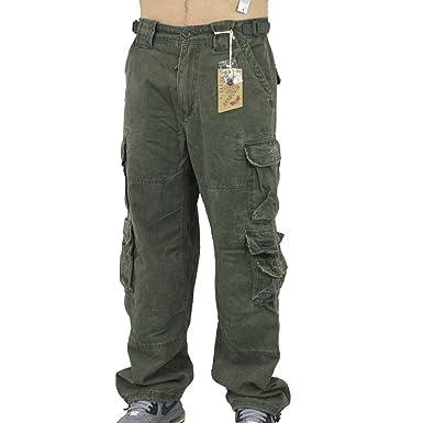 Jet Lag Männer Cargo Hose 007 oliv - Maße beachten, weites Bein  Amazon.de   Bekleidung dbe26bc30a